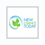 3 green leaves logo of New Chance Today